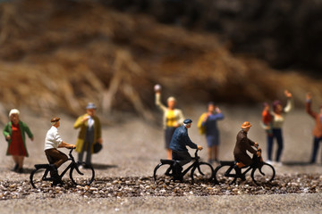 Model toys, bicycles