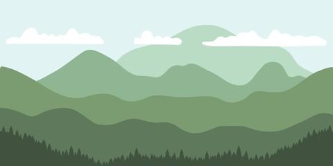 Vector mountains