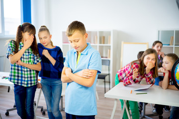 School bullying concept