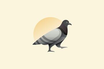 Pigeon Vector Logo