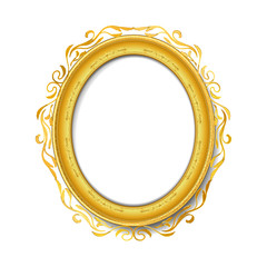 vintage gold picture frame
