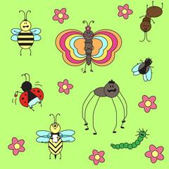 Смешные насекомые