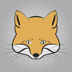 Fox head icon