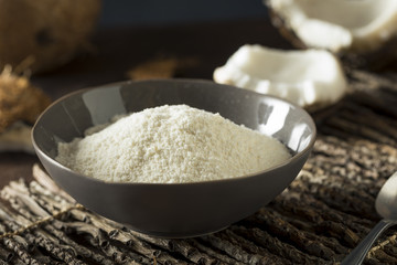 Raw Organic Dry White Coconut Flour
