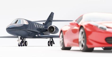Auto e jet di lusso
