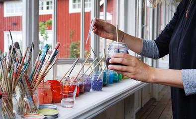 Mixing colors, Lögnäs Gård