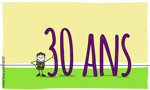 30 ans c l bration d 39 un anniversaire d 39 entreprise fichier vectoriel libre de droits sur la. Black Bedroom Furniture Sets. Home Design Ideas