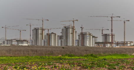 Construction site in Israel