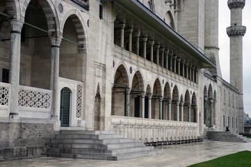 Façade de la mosquée Süleymaniye - 4