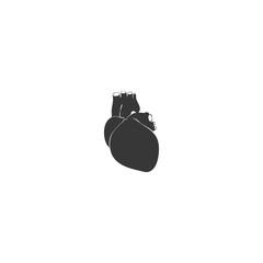 realistic heart icon