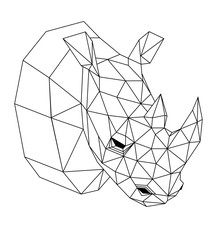 Geometric rhinoceros