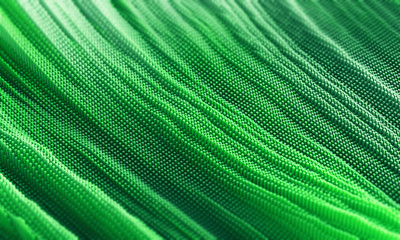 Abstract green lines or paint