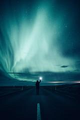 Foto op Plexiglas Noorderlicht Iceland..