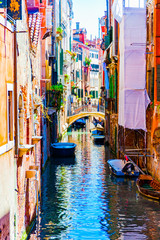 Venetian Canal- Reflections