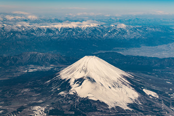 富士山空撮