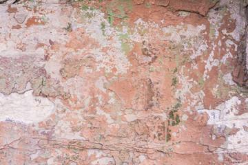 Fotobehang Oude vuile getextureerde muur Wall with peeling paint background