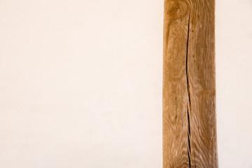壁, 漆喰壁・丸柱・加工素材