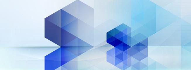 abstrakt formen bewegung banner