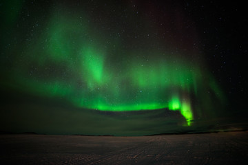 Aurora Borealis seen from Abisko, Sweden, 17 March 2017