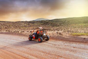 aventure en buggy dans le désert