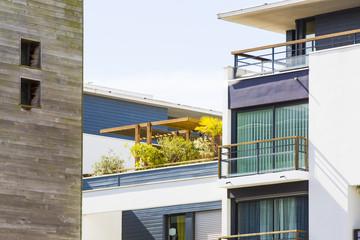 Wall Mural - Appartements de luxe avec terrasses