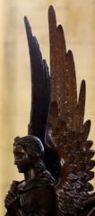Fototapete - Wooden angel