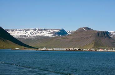 Isafjördur, Island