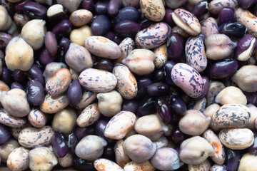 Beans Soaking Whole Food Garbonzo Bean Black Anasazi