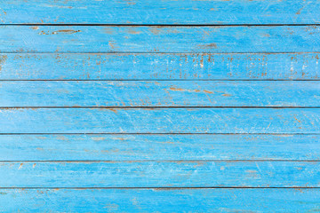 Distressed blue rustic wood backdrop