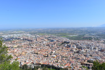 Jaen in Andalusien