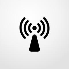 radiation icon illustration isolated vector sign symbol