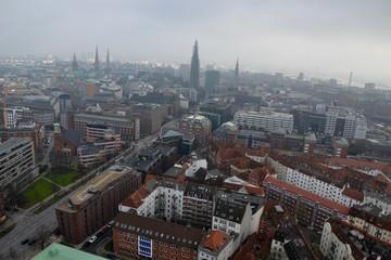 View of Hamburg, Germany