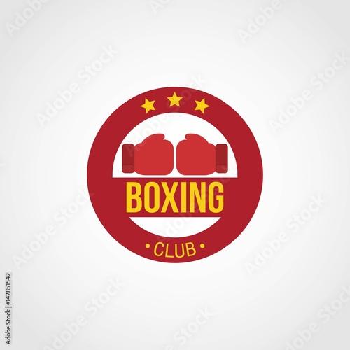 Boxing Logo Design Template