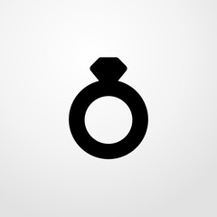 ring icon illustration isolated vector sign symbol