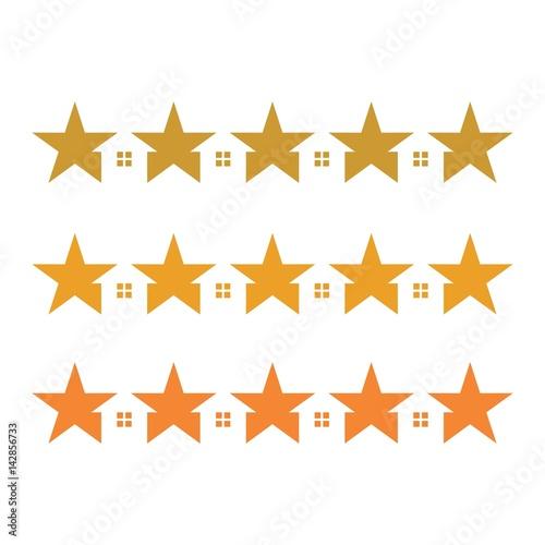quotfive star logo vector home logo vectorquot imagens e