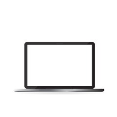 Vector realistic labtop isolated