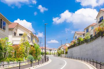 新興住宅街イメージ