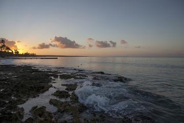 Sunrise in Caribbean