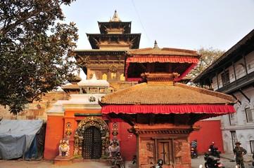 震災前ネパール、ダルバール広場