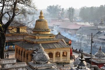 震災前ネパール、パシュパティナート