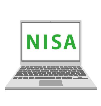 NISA PC イラスト素材