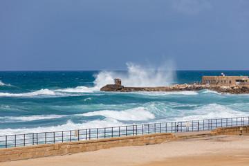 In Caesarea