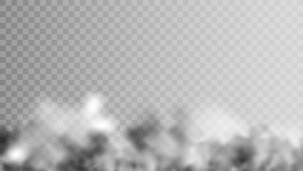 Transparent Smoke Or Fog Simple Mist