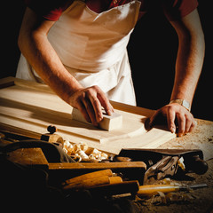 A Joiner at work