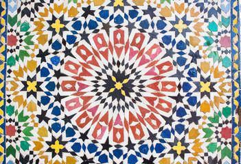 Die Farben von Marrakech - Fliesenarbeiten