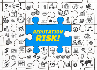 Reputation Risk! / Puzzle mit Symbole