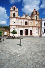 Iglesia de Nuestra Señora del Carmen am Plaza del Carmen, Camaguey, Kuba