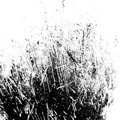 Scratches. Vector scratched texture on white background. vector
