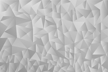 Abstract futuristic shape vector background for use in design. grey geometric texture. polygonal triangle background. template background. polygonal pattern on the wall.