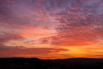 Colorful Twilight Romantic Sky